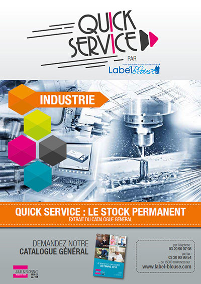 Catalogue quick service industrie