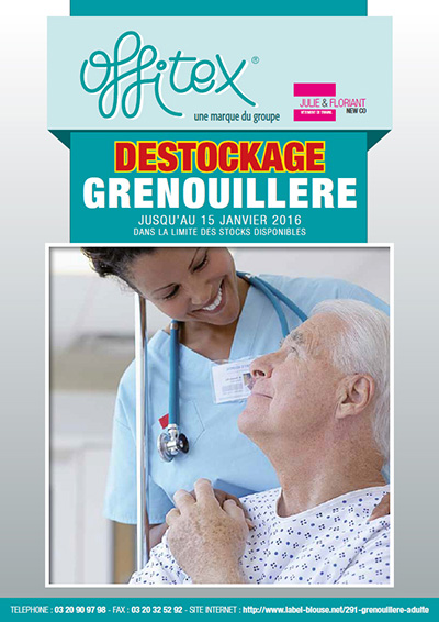 Catalogue grenouillere