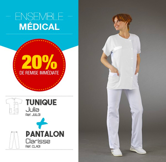 Ensemble tunique et pantalon